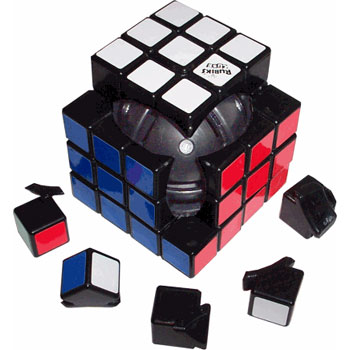 how to build a rubiks cube work