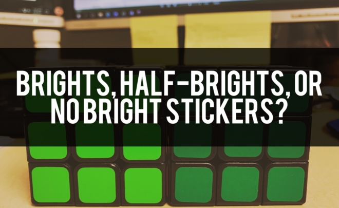 Brights, Half-Brights, or No Bright Stickers